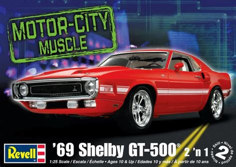 revell  ford mustang shelby gt model kit