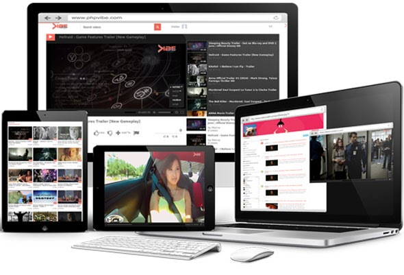 PHPVIBE V4.0 – PROFESSIONAL VIDEO AND MEDIA CMS NULLED