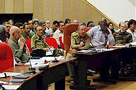 President Raul Castro of Cuba speaks on the vital role of the trade union movement in the transformation of the economic situation on the revolutionary Caribbean island nation-state.  by Pan-African News Wire File Photos