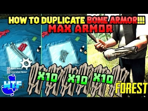 The Forest PS4/PC BONE DUPLICATION GLITCH 2019! ✓ ✅ 100