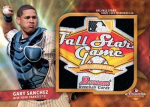 2016 Bowman Chrome Baseball AFL Fall Stars Game Relic Superfractor