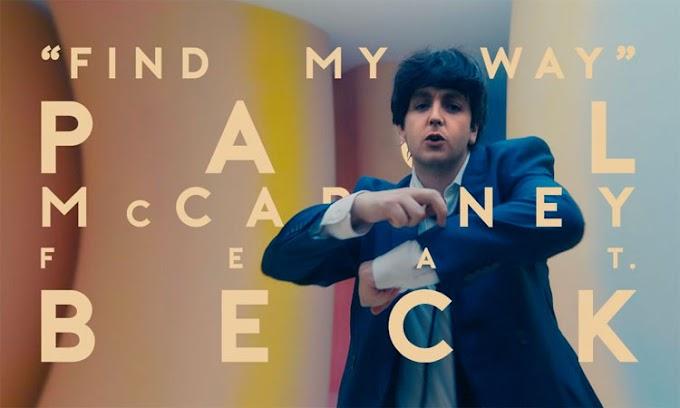 """Paul McCartney conta com recursos tecnológicos para voltar a ser jovem em """"Find My Way"""", com participação de Beck; Assista!!"""