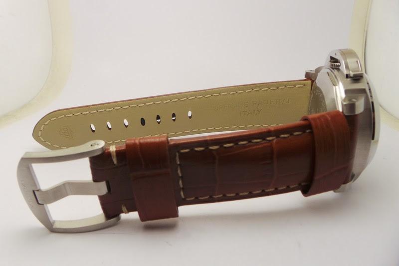 Panerai Brown Leather Strap