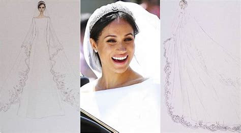 Kensington Palace releases sketches of Meghan Markle?s