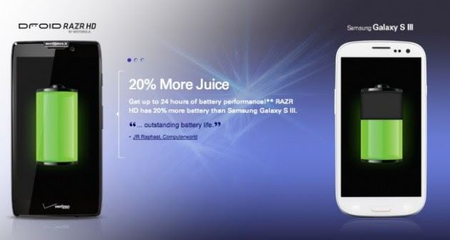 Motorola attacca Samsung nella sua ultima campagna pubblicitaria