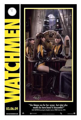Watchmen Character Movie Posters - Malin Akerman as Laurie Juspeczyk / Silk Spectre II