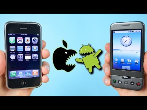First Ever Apple iPhone Vs. First Ever Android   Lifehacker Australia