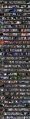 Upskirts 2476-2505 (Beautiful Women Upskirts Voyeur Escalator)