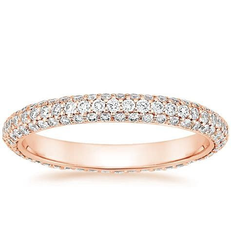 Allure Eternity Diamond Ring in 14K Rose Gold