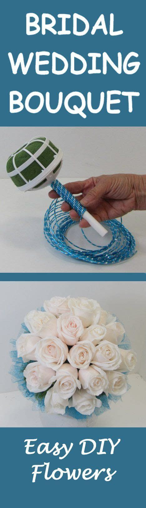 Learn How to Make Your Own Bridal Bouquet   Easy DIY