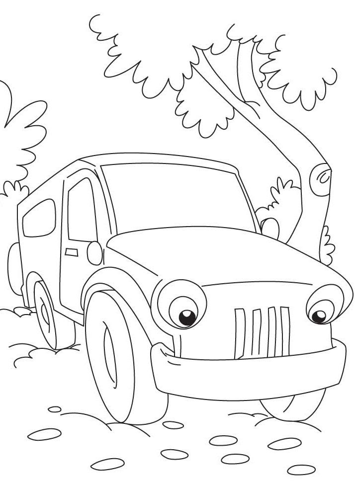 Jeep Coloring Pages at GetColorings.com | Free printable ...