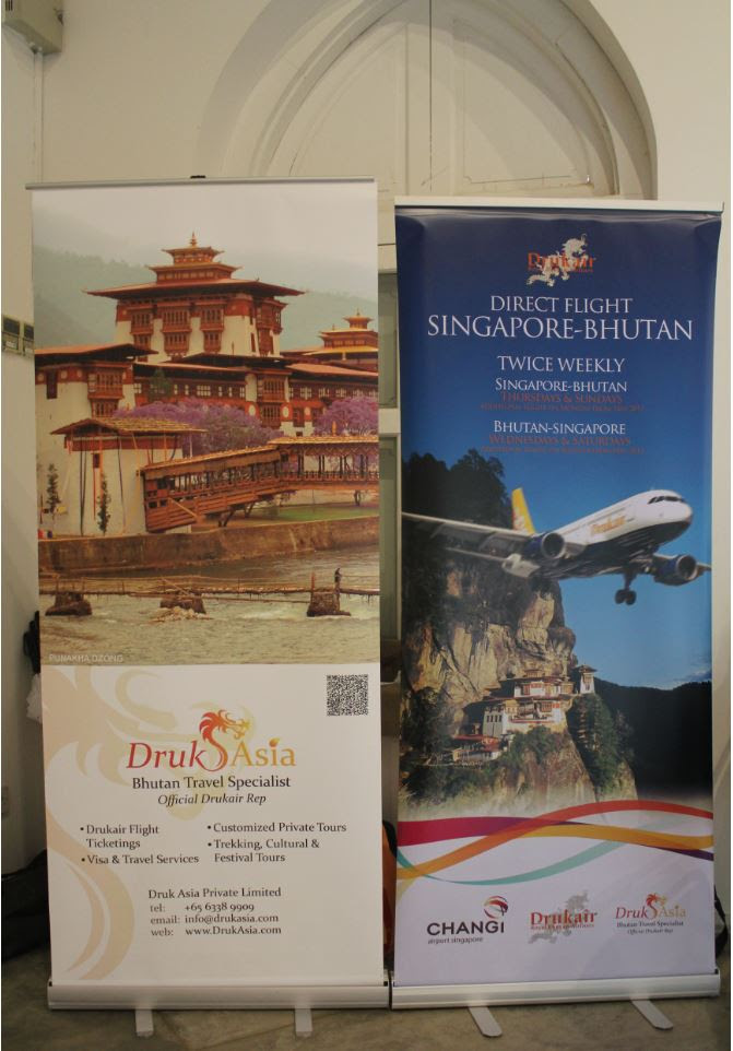Druk Asia Poster