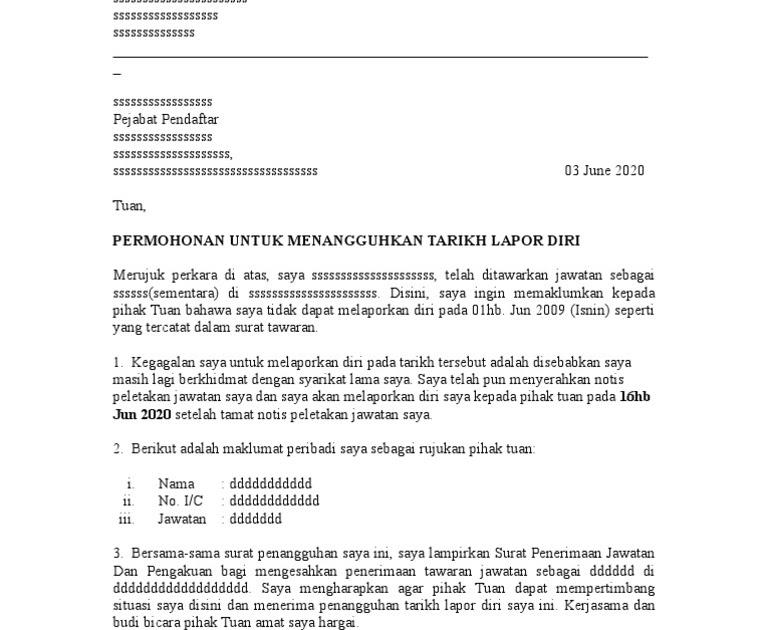 Contoh Surat Permohonan Pemeriksaan Contoh Surat