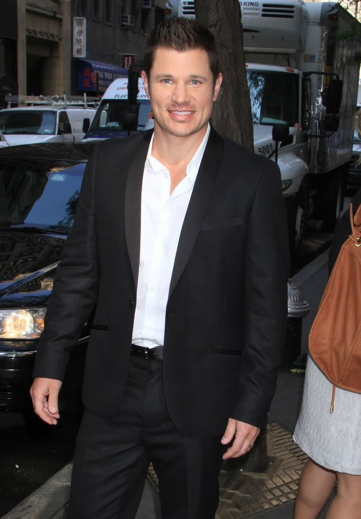 Nick Lachey - Dean Cain and Nick Lachey Arrive at the NBC Studios