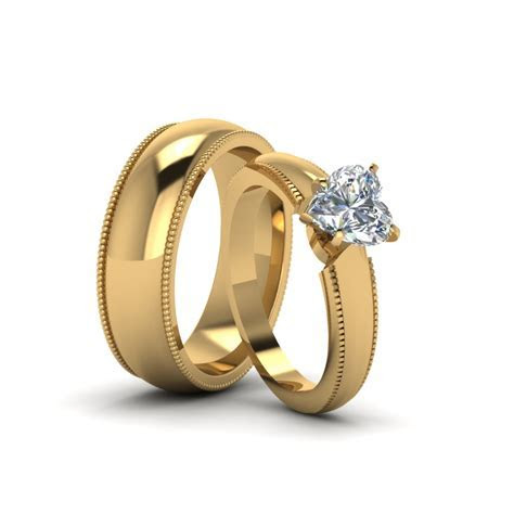 Wedding gold rings for couples