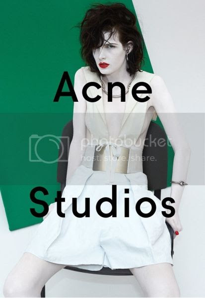 Acne Studios spring summer 2014 campaign