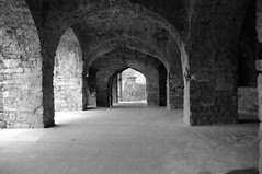 Golconda fort arches