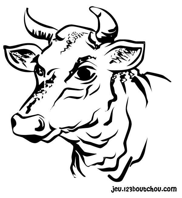 Sélection De Coloriage Vache à Imprimer Sur Laguerchecom Page 3