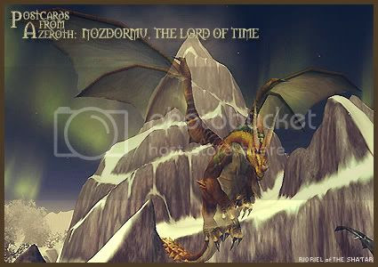 Postcards of Azeroth: Nozdormu - The Lord of Time, by Rioriel Ail'thera