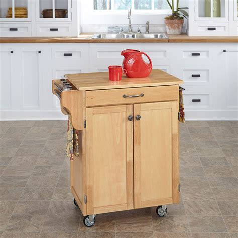 home styles design   small kitchen cart cherry wood