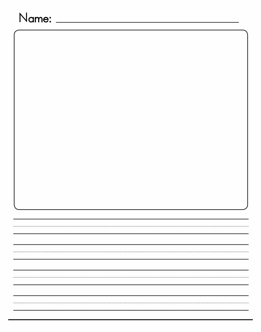 Free Writing Paper For 1st Grade  free printable writing paper for first grade worksheets on