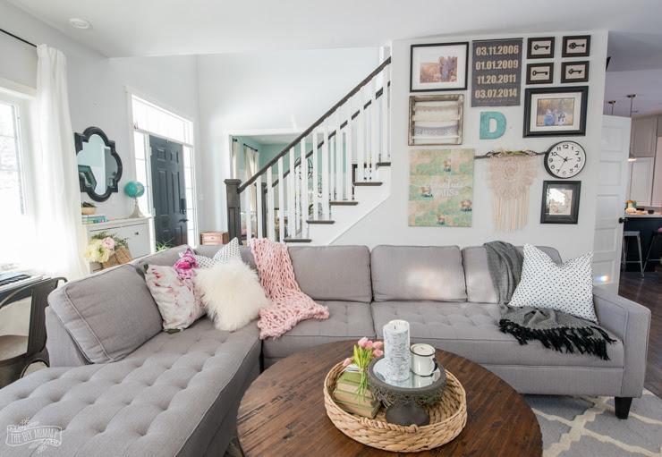 Spring Living Room Decor  2019 Home  Decorating  Ideas
