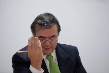 Marcelo Ebrard, exjefe de Gobierno del Distrito Federal. Foto: Octavio Gómez