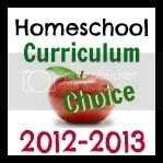 Homeschool Curriculum Choice, 2012 - 2013