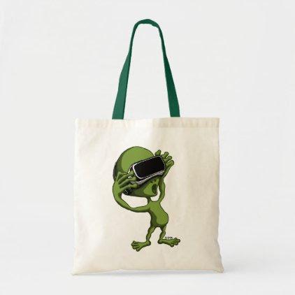 VR Alien Tote Bag