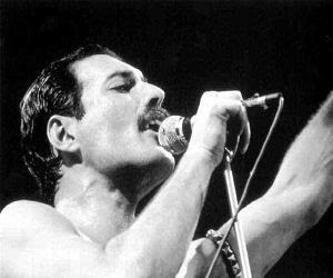 Freddie Mercury do Queen