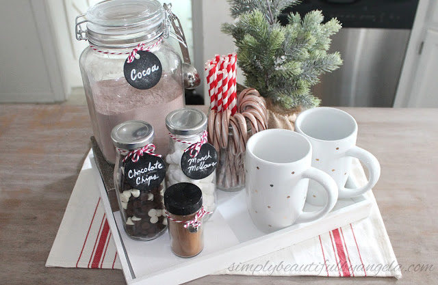 Hot Cocoa Station for the Holidays - Simply Beautiful by Angela - HMLP 115 Featurue