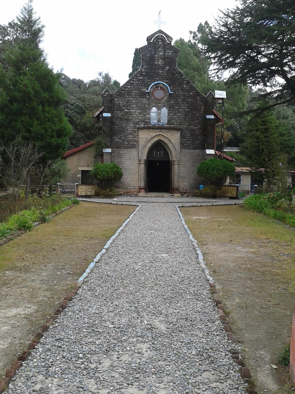 St. John's church, Lansdowne