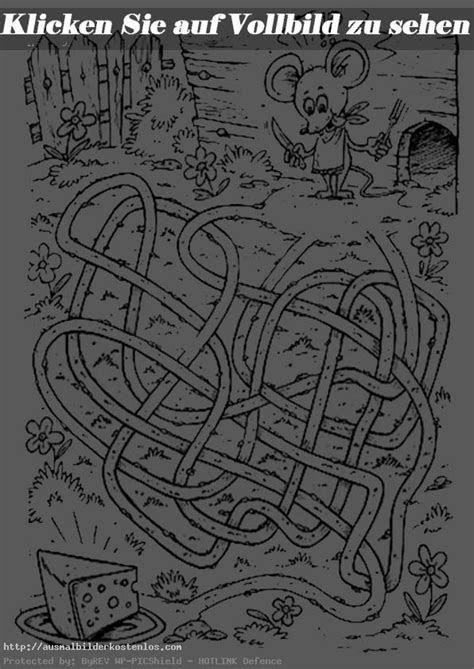 malvorlagen labyrinthe ausdrucken  kostenlose malvorlagen