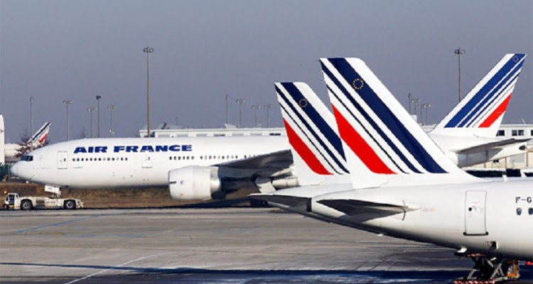 Air France avioes parados