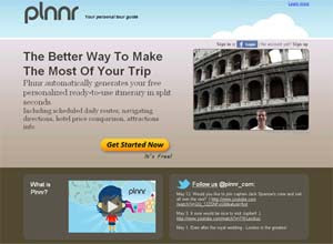 Site Plnnr agrega informações de diversos outros para projetar itinerários nos 20 destinos turísticos mais procurados