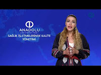 SAĞLIK İŞLETMELERİNDE KALİTE YÖNETİMİ - Ünite 3 Konu Anlatımı 1 - Açıköğretim Sistemi - Anadolu Üniversitesi