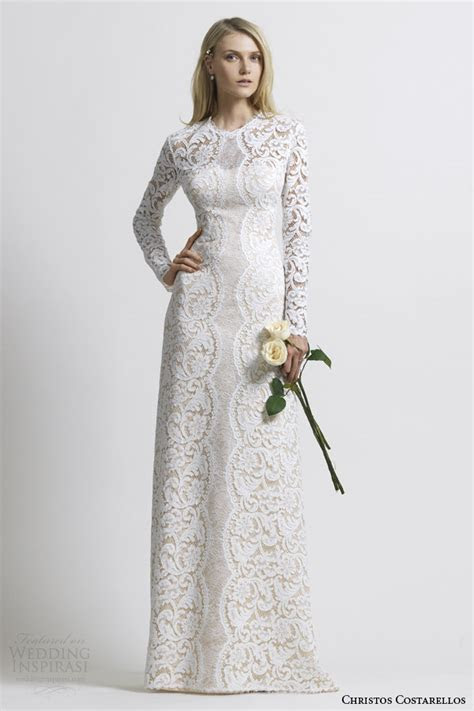 1000  images about Long Sleeves Wedding Dresses on