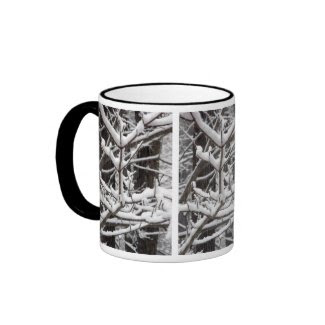 Snow-covered Branches mug