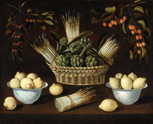 Archivo: Blas de Ledesma-esparragos alcachofas limones cerezas.jpg
