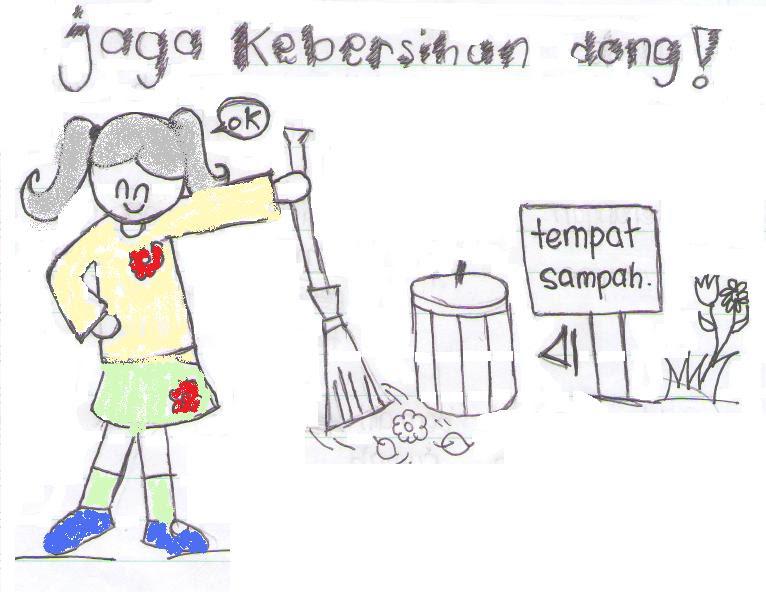Lisaputry Blog Kebersihan Lingkungan Sekolah