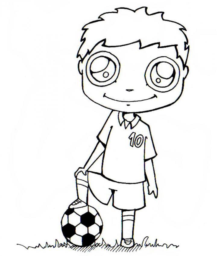 Dibujos Para Colorear Botas De Fútbol Eshellokidscom