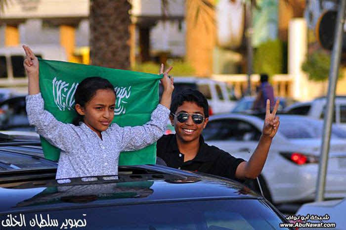 تغطية : مسيرات الفرح في العاصمة