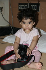 One Year Old Street Photographer Nerjis Asif Shakir by firoze shakir photographerno1
