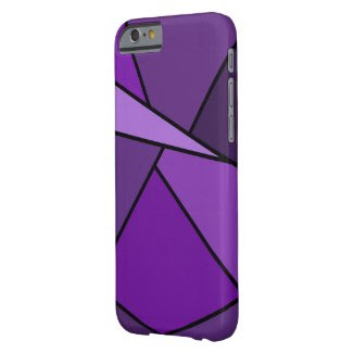 Abstract Purple Polygons iPhone 6 Case