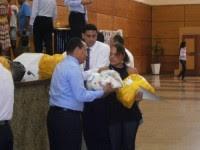 Igreja Universal entrega cestas básicas a famílias de presidiários em Alagoas