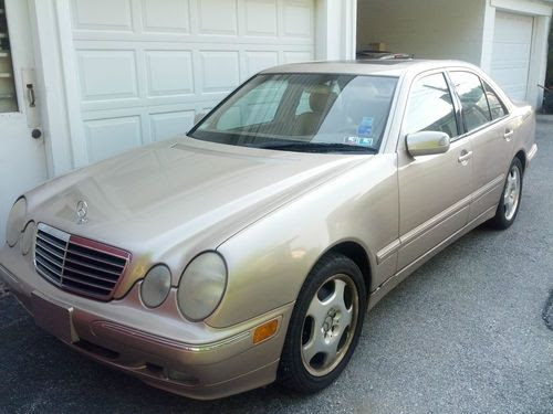 Find used 2001 Mercedes Benz E430-Hanover, PA-AS IS in ...