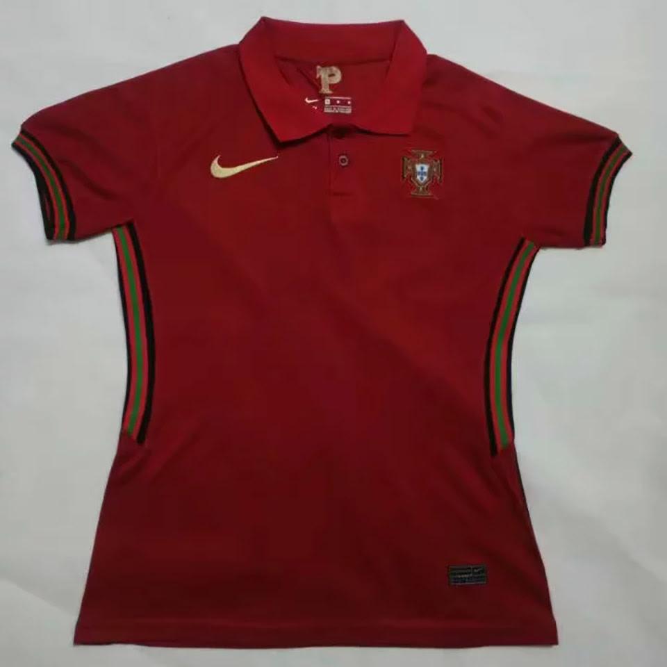US$ 14.98 - 2020 Euro Portugal Home Women Soccer Jersey - www.brfans.com
