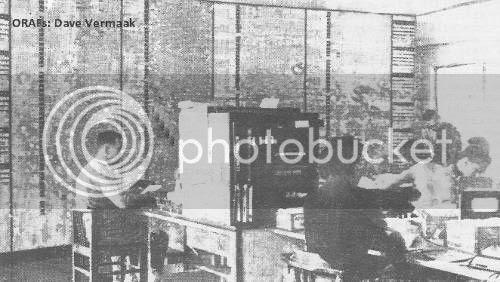 Office, Ndola Airport 1959