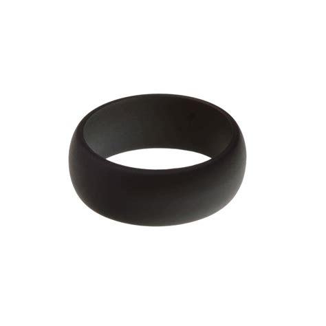 mens plain silicone ring kyralane