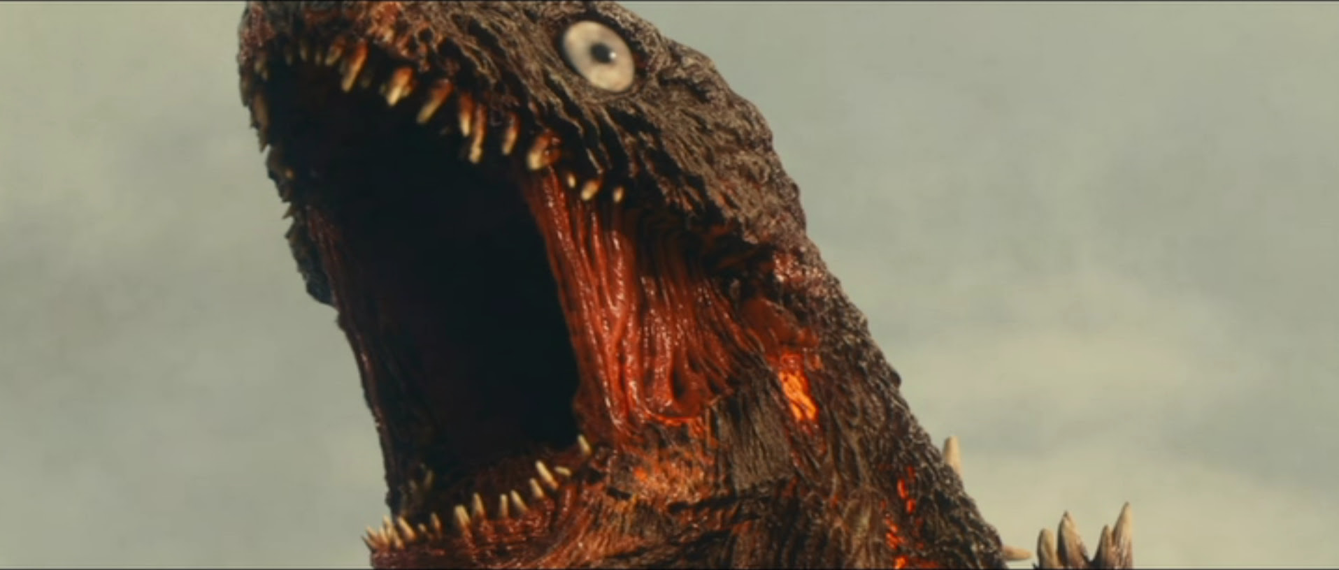 Shin Godzilla, lookin all kinds of unhappy